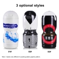 1pc Aircraft Cup Man Masturbator Sex Toys Wolf Soft Silicone Pocket Toys Fake Pussy Artificial Vagina
