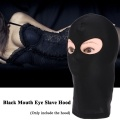 High Elastic Mask Black Mouth Eye Slave Hood Sex Product Toy Harness Adult Game Sex Toy