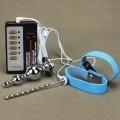 Electric Shock Urethral Dilators Anal Plug Elastic Cock Rings Penis Plug Sound Pulse Stimulator Medical Themed Sex Products For Men