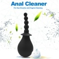 Silicone Anal Cleaner Ass Douche Vagina Pussy Cleaning Butt Plug Anal Beads Sex Toys For Women Men