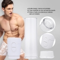 Penis Enlargement Vibrator for Men Penis Extension Penis Pump Male Penile Erection Training Male Sex Toys Penis Enlarge Vacuum Pump Male Penis Extender
