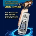 Multi-frequency Realistic Super Soft Automatic Silicone Aircraft Cup Rotating Sucking Pumping Male Masturbation Device Auto Suck Vibrating Masturbator Cups Stimulating Sex Toys Men Use Adult Sex Product