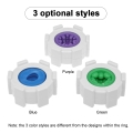 Youcups 3pcs Male Masturbator Ring Stretchy Manual Penis Massager Masturbation Cup Men Adult Sex Toys
