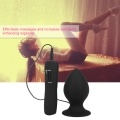 Anal Plug Stimulation Vibrator Masturbation Super Big Size 7 Mode Vibrating Speeds Orgasm Stimulator Butt Plug Prostate Massager SM Erotic Adult Sexy Toys for Male/Female