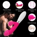 36 Speeds  Double Motor G-Spot & Clitoris Vibrator Waterproof Oral Clit Vibrator Intimate Adult Sex Toys For Women Silicone Women Massager