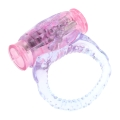 Adult Fancy Sexy Men Silicone Loop Vibration Ring Penis Extension Time Prolong Enhancer Passion
