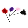 1Pc 4 Colors Sexy Adult Game Feather Fun Flirt Feather Tease Tickler Sex Product Feather Stick Sex Toys Accessories Purple