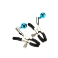 1 Pair/2pcs Alternative Nipple Clamps Breast Bell Female Breast Clip Bell Nipple Clamps Shaking Stimulate Milk Clip Overcast Female Breast Clip Massage Sex Toys