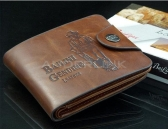 Neue Männer Junge Classic Leder Taschen Kredit- / ID-Karten-Halter Portemonnaie
