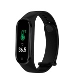 M4 Pro Smart Bracelet Temperature Heart Rate Blood Pressure Monitor Activity Tracker