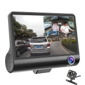 4 Cal 3 soczewka 1080P Car DVR Camera Video Driving Recorder z Night Vision