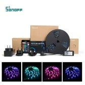 SONOFF L1 Striscia LED intelligente Striscia impermeabile dimmerabile WiFi RGB Funziona con Alexa Google Home
