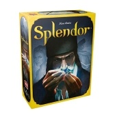 Splendor Table Brettspiel Papier Chips