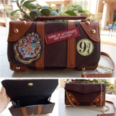 Crossbody di PU Harry Potter Hogwarts School Badge