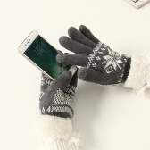 Nouveaux gants chauds en velours pour l