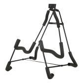 muslady klappbarer A-Rahmen-Ständer für Gitarre Bodenständer für Gitarre mit verstellbarer Breite Gitarrenhalter Schaumstoffgepolsterter, robuster Metallständer für Akustik- und E-Gitarren