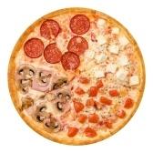 Pizzamuster Flanelldecke