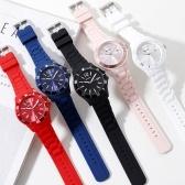Montre étudiante étudiante lycée lycée calendrier étanche montre électronique commune