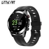 Nouveau E12 Bluetooth appel montre intelligente fréquence cardiaque pression artérielle oxygène sanguin surveillance de la santé mode exercice Bracelet de sport silicone noir