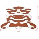 Ковровая коровая печать 150 х 220 см коричневый