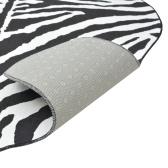 Кожа зебра печати 70 х 110 см