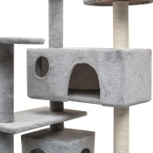 Cat Cat Tree Sisal 125 cm Gray