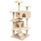 Cat Scratching Tree Sisal 125 см Бежевый
