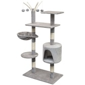 Cat Cat Tree 125 cm gris