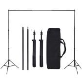Photo Studio Set avec 5 arrière-plans colorés et suspension réglable