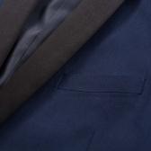 132182 Traje de cena con corbata negra de 2 piezas para hombre / Smoking Talla de smoking 48 Azul marino