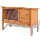 Rabbit cage outdoors Pets 1 level Wood