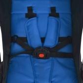 Blauer Kinderwagen 89 x 47,5 x 104 cm