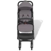 Gray Stroller 89 x 47,5 x 104 cm