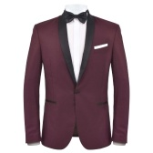Evening tuxedo 2 pieces 56 Bordeaux