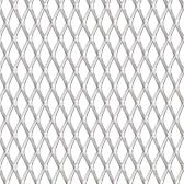 拡張グリルパネルステンレス鋼100x100 cm 20x10x2 mm