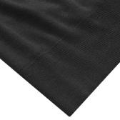 Jersey de hombre cuello redondo negro XL