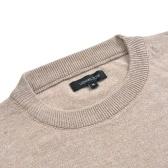 Hellbeige Pullover mit Rundhalsausschnitt L
