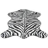 Teppichform 70x110 cm Zebra-Print