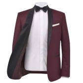 Traje de caballero / Esmoquin de 2 piezas talla 48 rojo