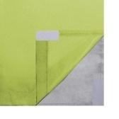 Rideaux opaques 2 unités double couche 140x245 cm vert
