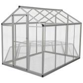 Nichoir extérieur en aluminium 178x242x192 cm