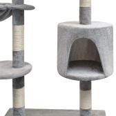 Schaber für Katzen mit grauem Sisal Schaber 125 cm