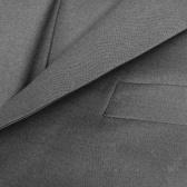 Traje de hombre de negocios 3 piezas tamaño 50 gris