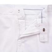 2 piezas de esmoquin / ceremonia de vestir de los hombres 52 blanco