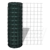 Network European-style fence 25 x 0.8 m with a mesh of 76 x 63 mm