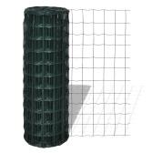 Rete recinzione stile europeo 25 x 0,8 m con maglia di 76 x 63 mm