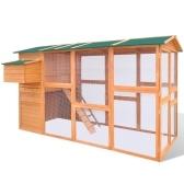 Hühnerstall aus Holz 295x163x170 cm