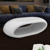 Coffee Table Hollow White