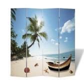Photo-écran diviseurs écran de la chambre de plage 160 x 180 cm