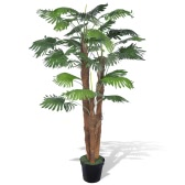 Artificial Fan Palm Tree with Pot 180 cm